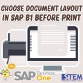 SAP-Business-One-Tips-Choose-Document-Before-Print