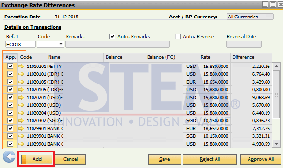SAP-Business-One-Tips-STEM-How-to-Calculation-the-Exchange-Rates-Difference-02