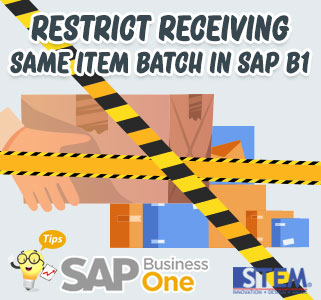 SAP-Business-One-Tips-restrict-receiving-same-item-in-sap