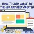 SAP Business One Tips Indonesia How to Add Value to The UDF Has Been Created