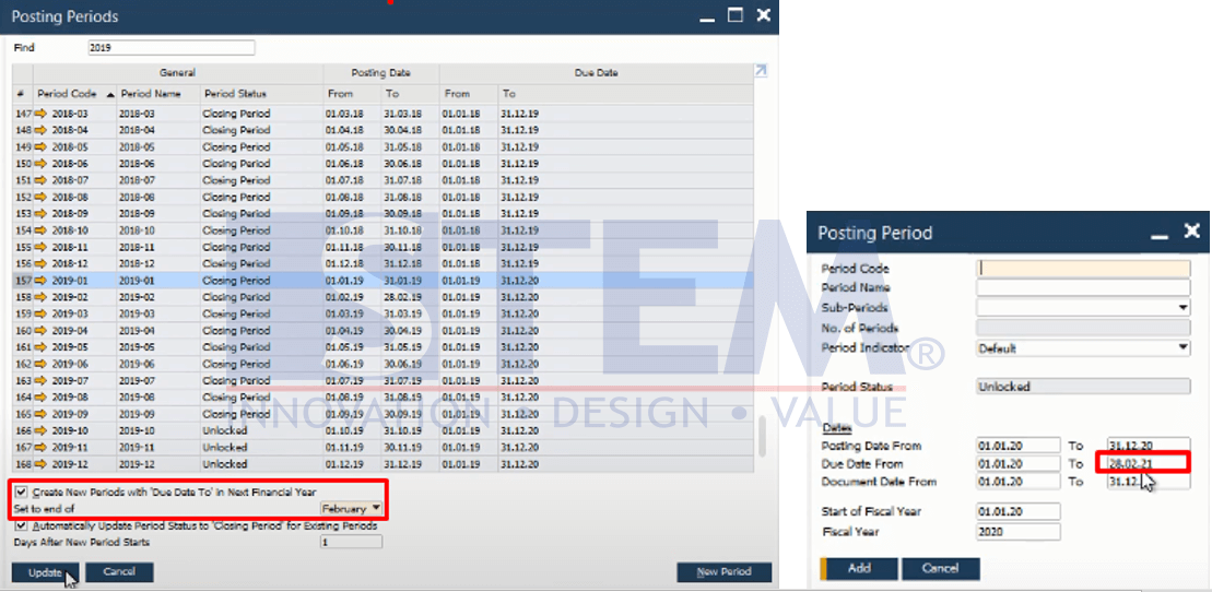 SAP Business One Tips - Posting Period Enhancement at SAP Business One version 10.0