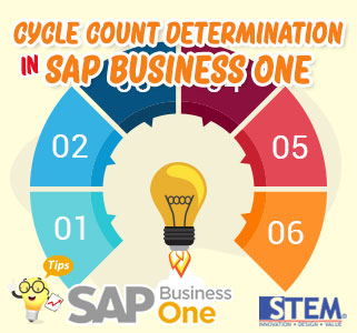SAP Business One Cycle Count Determination