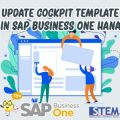 SAP Business One Tips How to Update Cockpit Template in SAP Business One Hana