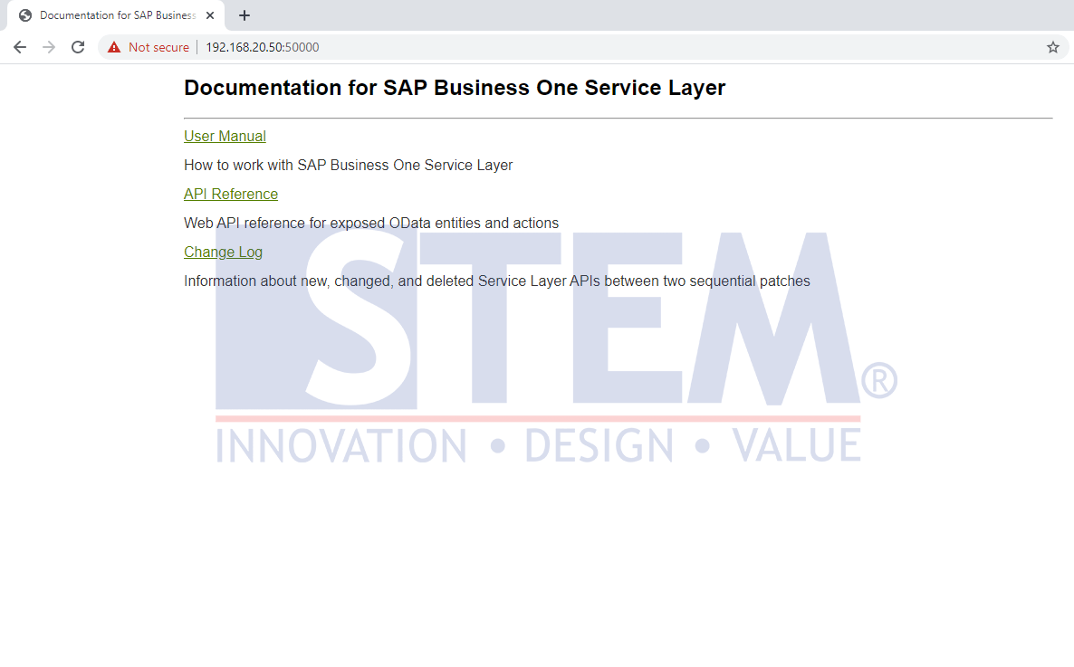 SAP Business One Tips - How To Know That You Already Connect to the API Service Layer