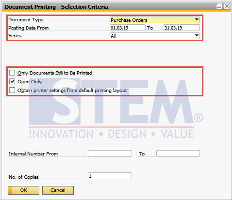 SAP Business One Tips - How To Use Document Printing In SAP Business One