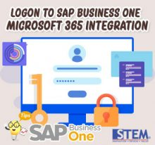 SAP Business One Tips Logon to Microsoft 365 Integration Setup Page