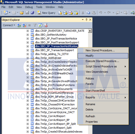 SAP Business One Tips - Create Validation using Transaction Notification