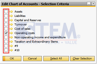 SAP Business One Tips - How To Delete Chart of Accounts on SAP Business One