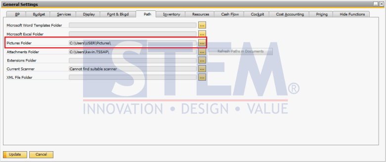 SAP Business One - How to Add Image to the Item Master