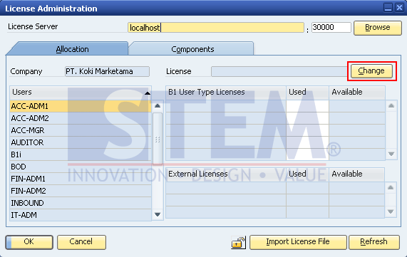SAP Business One Tips - How to Assign SAP License