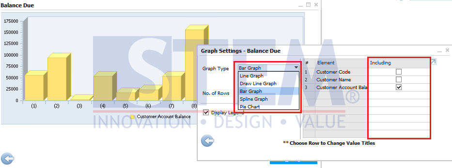 SAP Business One Tips - View and Customize Graph in Query Manager