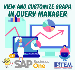 SAP Business One Tips View and Customize Graph in Query Manager