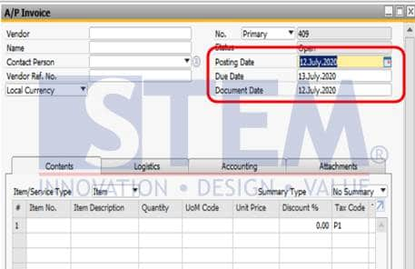 SAP Business One Tips - How To Change Date Format