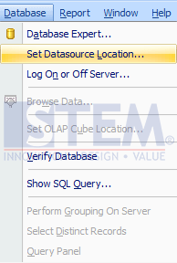 SAP Business One Tips - How to Change Crystal Report from HANA Version to SQL Version