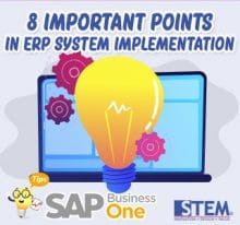 8 Important Points in ERP System Implementation