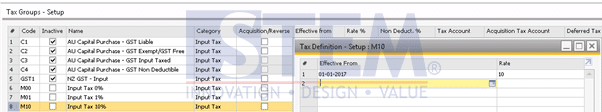 SAP Business One Tips - How to add Tax Group in SAP Business One