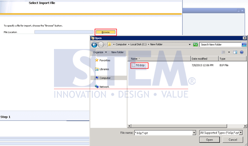 SAP Business One Tips - Export and Import Crystal Report Files on SAP Business One