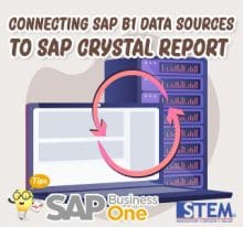 SAP Business One Tips Connecting to Crystal Report