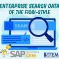 SAP Business One Tips Enterprise Search Data of The Fiori Style