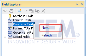 SAP Business One Tips - Create and Update Parameters SAP Crystal Reports