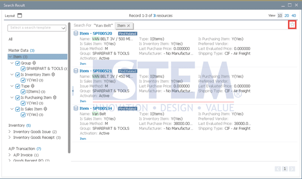 SAP Business One Tips - Enterprise Search Data of the Fiori-Style