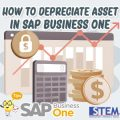 SAP Business One Tips How to Depreciate Asset